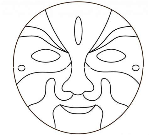 printable mask opera mask