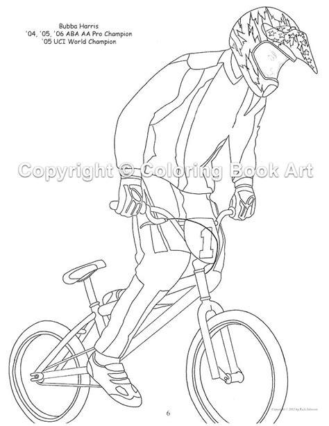bmx bike coloring page letscoloringpagescom nice pic