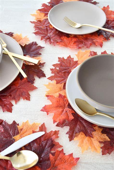 diy fall leaf decor ideas