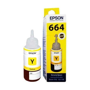 jual epson original t6644 tinta cartridge yellow harga kualitas terjamin blibli