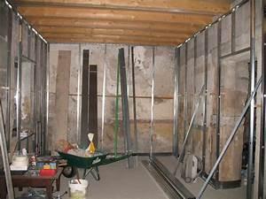 Pose Rail Placo Plafond : pose placo sur mur ancien ~ Dailycaller-alerts.com Idées de Décoration