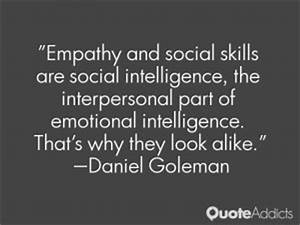 Social Intellig... Interpersonal Intelligence Quotes