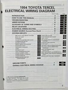 1994 Toyotum Previum Engine Diagram