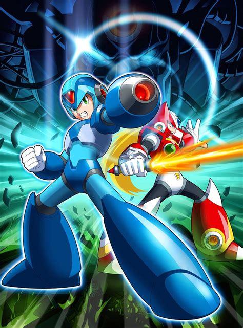 Megaman X And Zero Megaman Mega Man Video Game