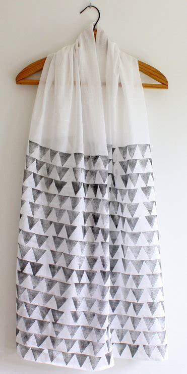 pyramid hand block printed indian cotton scarfshawl