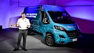 Fiat Unveils 2020 Ducato Electric Van  W  Videos