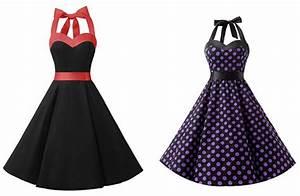 50 Er Jahre Stil : neckholder kleid von dresstells im 50er jahre stil billig bei amazon ~ Sanjose-hotels-ca.com Haus und Dekorationen