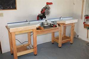 Miter Saw Table Plans PDF - WoodWorking Projects & Plans