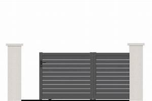 Portail Alu Coulissant 4m : portail coulissant diademe portail aluminium coulissant ~ Dailycaller-alerts.com Idées de Décoration