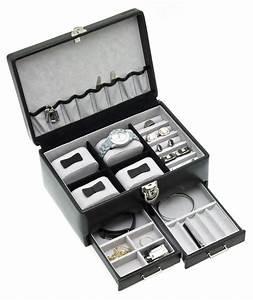 Boite A Bijoux : boite bijoux samson pour homme noir davidt 39 s 390228 01 az fournitures ~ Teatrodelosmanantiales.com Idées de Décoration