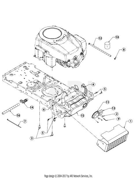 Sear 26 Kohler Engine Electrical Diagram by Mtd 13ax79th090 Lt 4600h 2008 Parts Diagram For Kohler