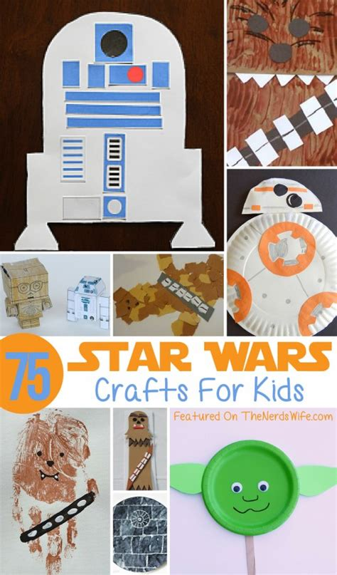 wars crafts for 347 | Star Wars Paper Crafts for Kids 500x852