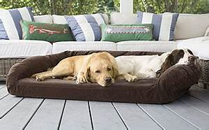 dog beds memory foam toughchew bolster beds orvis uk With dog beds for aggressive chewers
