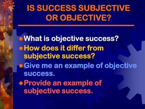 Give Me An Exle Of An Objective In A Resume by Ppt How Perceptions Of Success And Goals Mediate