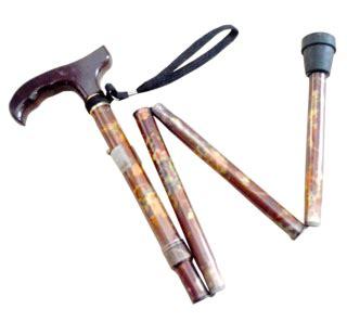 tongkat orang tua bisa dilipat ky927l motif toko medis jual alat kesehatan