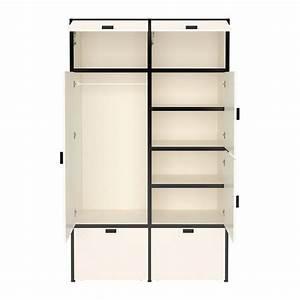 ODDA Wardrobe IKEA The Casters Make The Bottom Drawers