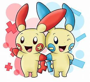 AT with Hiyukee: Plusle and Minun by SuperLakitu on DeviantArt