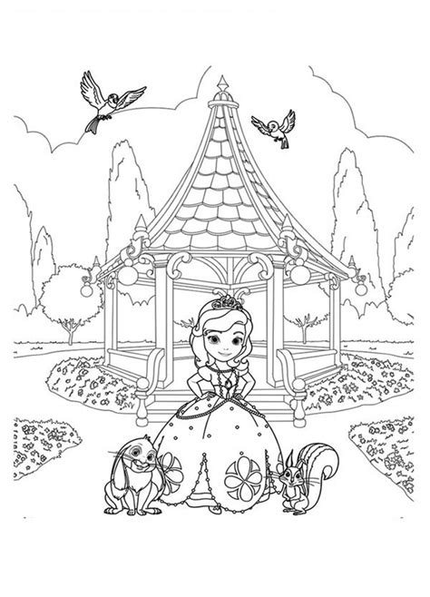 disegni da colorare once upon a time sofia the once upon a princess coloring pages