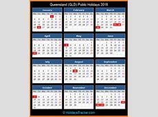Queensland Australia Public Holidays 2016 – Holidays Tracker