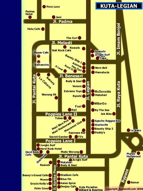 legian bali map  hotels map bali weather forecast