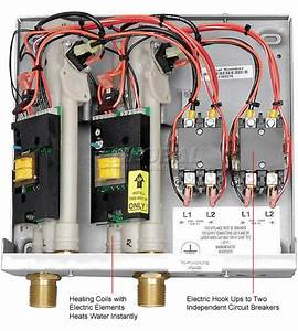 Eemax Ex1608tc Commerical Tankless Water Heater  Series Two Electric