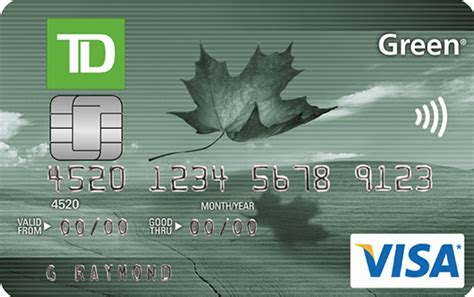 Apply For A Td Green Visa Card Business Card Design Templates Psd Cards Microsoft Publisher Size Sketch Letterhead Doc Visiting New Designs Tattoos Sample Kit Download Coreldraw