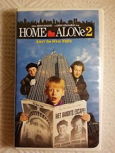 Home Alone 2 Lost In New York (vhs, 1993, White Clamshell Case) Ebay