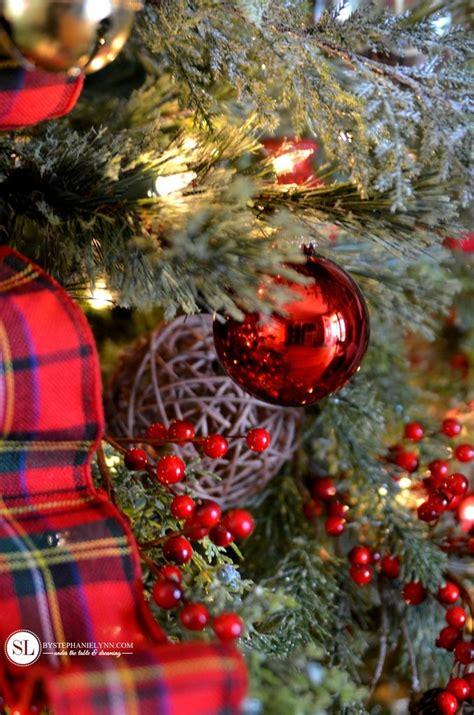unique red christmas trees ideas  pinterest