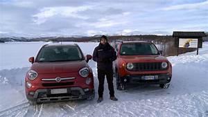 Fiat 500x 4x4 : fiat 500x e jeep renegade 4x4 la prova sui ghiacci svedesi youtube ~ Maxctalentgroup.com Avis de Voitures