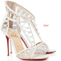 christian louboutin wedding shoes christian louboutin bridal shoes shoes post
