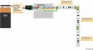 12 Volt Led Strip Light Wiring Diagram
