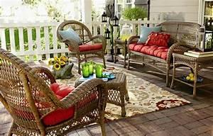 Mobilier De Veranda : salon de jardin pour enjoliver nos espaces outdoor design feria ~ Teatrodelosmanantiales.com Idées de Décoration