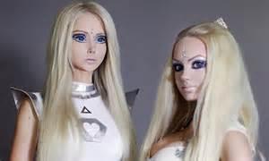real life barbie valeria lukyanova meets  match