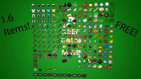 Cinema 4d Minecraft 1.6 Items Pack Free!