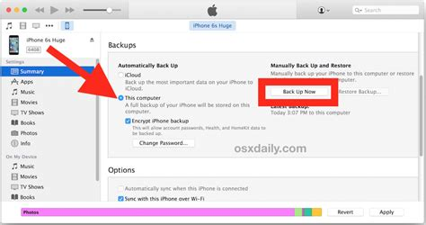 how do you backup iphone how to backup an iphone to external drive with mac os x