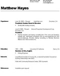 References Are Typically Included On A Resume by Sle Resumes References Available Upon Request Search