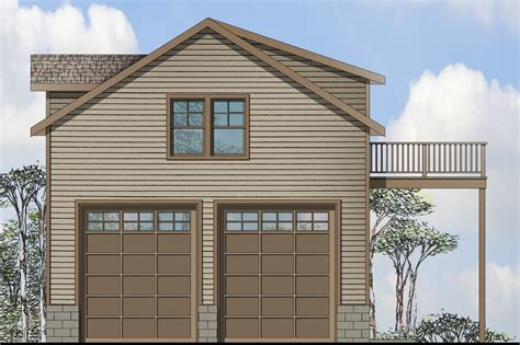 Traditional House Plans   Garage w/Living 20 063