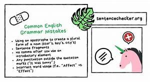 English Sentence Corrector