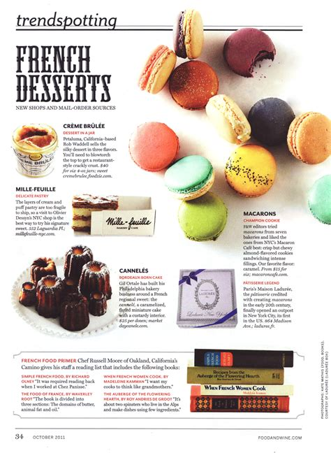 articles cuisine macaron cafe press