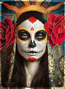 20 cool día de los muertos sugar skull makeup exles