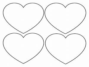 140 best images about i love hearts on pinterest With heart template for printing
