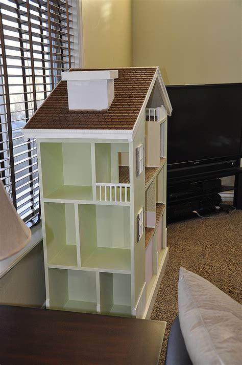 ana white  bookshelf dollhouse diy projects