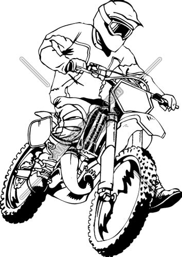 motocross clipart ourclipart