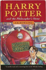 Image result for harry potter and the philosophers stone book