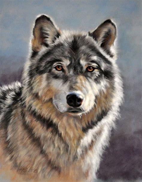 Wolf Head Paintings