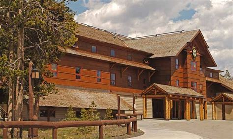 yellowstone national park cabins faithful snow lodge in yellowstone alltrips