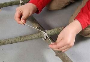 Kränze Binden Aus ästen : basteln mit kindern kostenlose bastelvorlage ~ Lizthompson.info Haus und Dekorationen