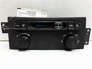 05 06 07 08 Chrysler Pacifica Manual Heater Ac Control Oem