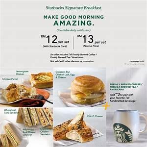 Starbucks Malaysia Breakfast Promotion 2017 ...