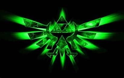 Triforce Deviantart Zelda Legend Background Backgrounds Cool